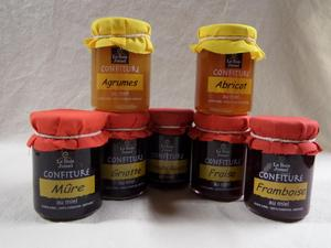 Confiture au miel aux Fruits